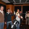 Durante la grabación